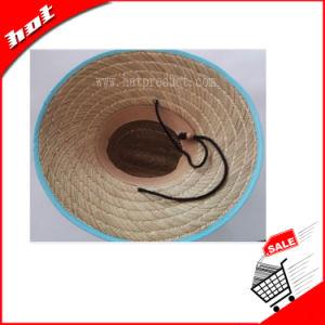 Rush Straw Hat Hollow Straw Hat Sun Hat Big Brim Hat pictures & photos