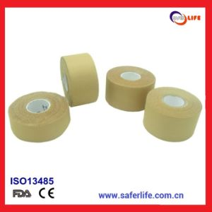SL08-002 Deluxe Rayon Cotton Strong Ashesive Hegh Tensile Strength Waterproof and Latex Free Rigid Strapping Tape pictures & photos