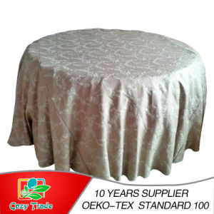 Chain Embroidery, Wedding, Banquet, Hotel Tablecloth, Table Linen pictures & photos