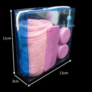 Transparent PVC Cosmetic Gift Bag for Promotion pictures & photos