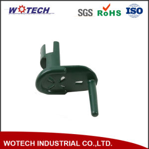 Green Painting OEM Aluminum Casting of Window Assemble Parts