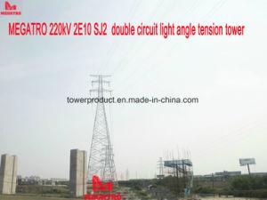 Megatro 220kv 2e10 Sj2 Double Circuit Light Angle Tension Tower pictures & photos