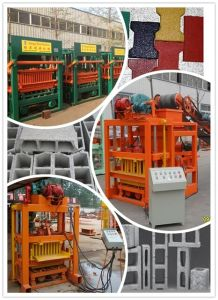 Angola Automatic Hollow Brick Block Making Machine pictures & photos