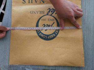 Yellow Paper Plastic Bags