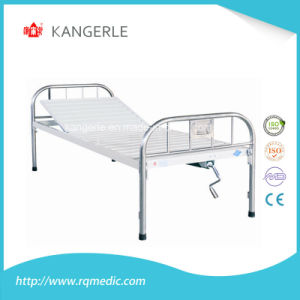Stainless Steel Hospital Bed. Flat Bed China Factory pictures & photos