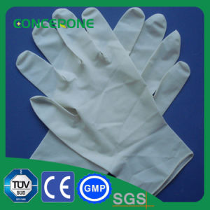 Medical Disposable Sterilized Latex Surgical Gloves Without Powder pictures & photos