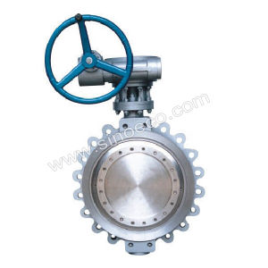 Folder Connection Metal Seal Butterfly Valve pictures & photos
