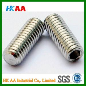 Flat Point Socket Set Screw (Grade-14.9-45H DIN913) pictures & photos