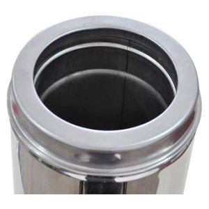 Stainles Steel Chimney Straight Pipe with CE Certificate pictures & photos