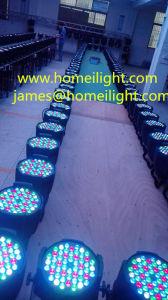 54 X 3W Mix Color PAR Light for Club Party Lamp Music Light Disco pictures & photos