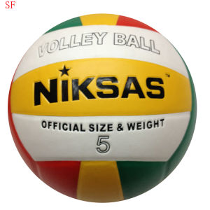 PU Soft Volleyball Size5 Volleyball pictures & photos