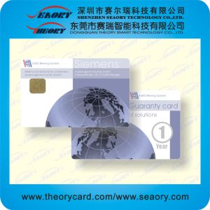 Customized RFID PVC Card (13.56MHz S50 IC chip) pictures & photos
