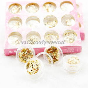 Art Nail Manicure Silver Foil Nuggets Leaf Products Kit (D56) pictures & photos