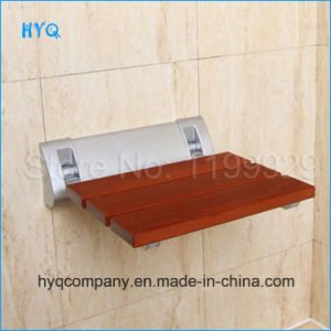 Aluminum+Wood Wall Seat Wall Chair Foldable Shower Seat pictures & photos