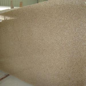 Polishing G682 Rusty Granite Slab