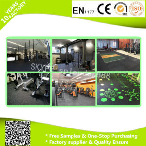 Sound Insulation Heat Reservation Gym Rubber Flooring Lowes pictures & photos