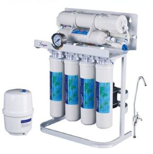 75GPD RO Water Purifier with Standing Frame and Pressure Meter pictures & photos
