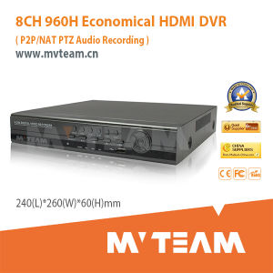 Economical 8CH 960h DVR with HDMI Output (MVT-6208D) pictures & photos
