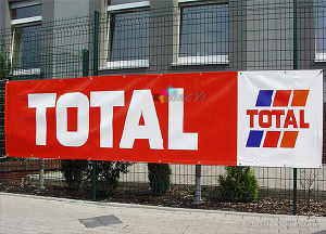 Custom Full Color Print Your Design Durable Cheap Display PVC Banner pictures & photos