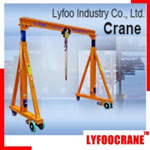 Manual Gantry Crane/Portal Crane 500kg, 1000kg, 2t, 3t, 5t, 10t pictures & photos