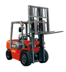 JAC 3500kg Diesel Forklift Truck pictures & photos