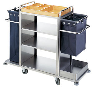 Trolley with Stainless Steel for Service (FW-58) pictures & photos