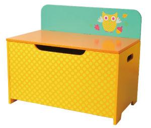 Wooden Toy Storage Toy Box Bench Chest Children Furniture Toy Chest Decoration Chest Storage Case pictures & photos