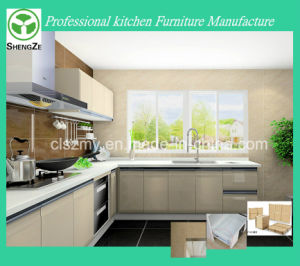 Modern Style PVC Finish Door Home Furniture Kitchen Design pictures & photos