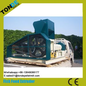 Floating Fish Pet Dog Food Pellet Production Line Extruder pictures & photos