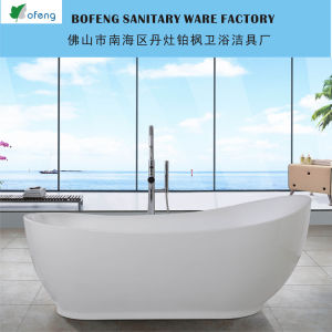Excellent Boat Shape Acrylic Bathtub (BF-6626)
