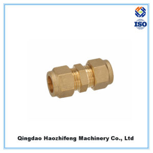 Brass Compression Fitting Coupling Pipe Fitting Tube Fitting pictures & photos