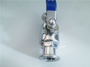 Sanitary Stainless Steel Clamped Ball Valve pictures & photos