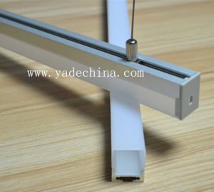 17mm Aluminum LED Profile for Pendant Suspended Light Available with Opal Matte Diffuser Cover pictures & photos