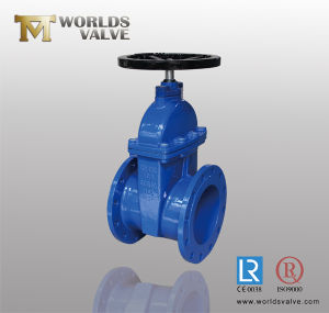Worm Gear Flanged Gate Valve pictures & photos