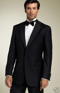 1 Button Wool Tuxedo (Tailor-Made)