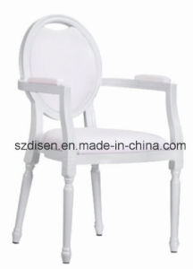 European Aluminum Banquet Arm Chair in Color White (DS-M115) pictures & photos