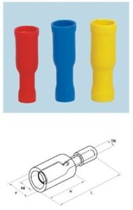 Bullet Shaped Female Insulating Joint (FRD) pictures & photos