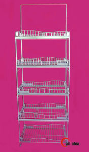 Four Layers Metal Display Stand, Exhibition Stand, Advertising Rack pictures & photos