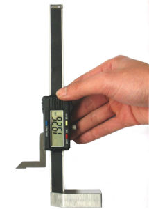 Digital Height Gauge With Double Datum Surfaces pictures & photos