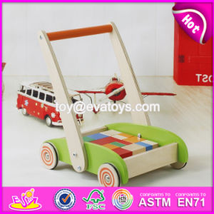 New Design Building Blocks Wooden Baby Walkers for Boys W16e066 pictures & photos