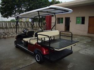 6 Seaters Electric Buggy for Resort Use pictures & photos