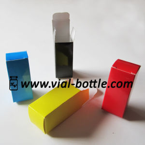 Colorful 10ml Vial Box with Shiny, 10ml Bottle Box pictures & photos