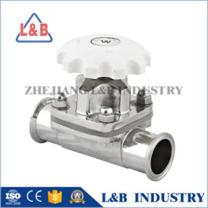 Stainless Steel Clamped Diaphragm Valve pictures & photos