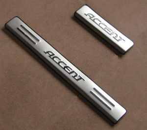 Hyundai Accessories: Door Sills Protectors for Accent