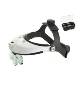 LED Light Helmet Magnifier for Repairing, Working, Reading Wholesale pictures & photos
