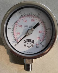 "4"" Winters All Stainless Steel Pressure Gauge pictures & photos"