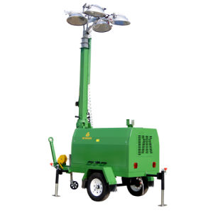 Diesel Generator Mobile Light Tower Powered by Kutoba/Perkins/Kholer pictures & photos
