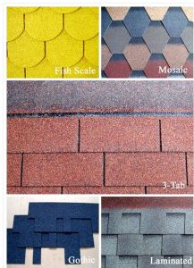 Fiberglass with Colored Sand Material and Plain Roof Tiles Type Fiberglass Cheap Asphalt Shingle pictures & photos