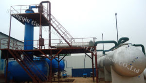 Waste Oil to Diesel and Gasoline Plant Without Pollution