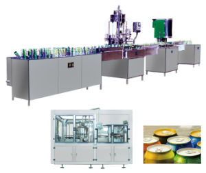 Pop-Top Can Filling and Sealing Machine 2in1 Monobloc pictures & photos